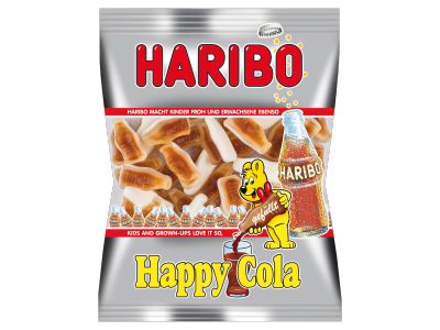 Haribo gumicukor happy cola 85g