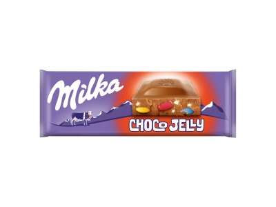 Milka Choco Jelly tejcsokoládé 250g