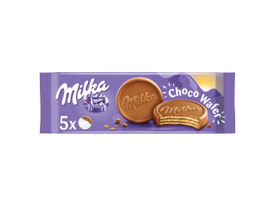 Milka choco wafer tejcsokoládéval mártva 5db 150g