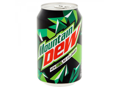 Mountain Dew zero szénsavas üdítőital 330ml