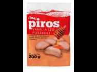 CBA PIROS puszedli vanília ízű 200g