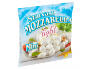 Szarvasi mini mozzarella sajt lében light 100g