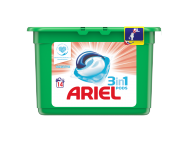 Ariel sensitive 3in1 kímélő mosókapszula 14db