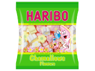 Haribo habcukor tubular chamallows flowers 100g