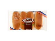 Jaus hot-dog kifli 4db 250g