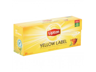 Lipton tea yellow label filteres 25x2g
