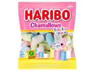 Haribo Chamallows habcukorka tubular colors 90g