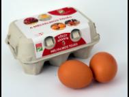 Pák-to friss tojás mélyalmos 'M-L' méret 6db