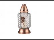 Üvegmécses LAZPRG műanyag fedeles rosegold 250mm