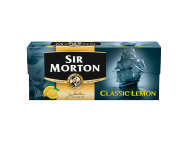 Sir Morton fekete tea classic lemon citromhéjjal 20x1.5g