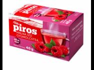 CBA PIROS filt. gyümölcstea málna ízű 20x2g