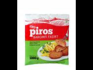 CBA PIROS gyorsfagy. készre sütött baromfi fasírt 1000g