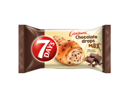 7Days croissant chocolate drops 70g