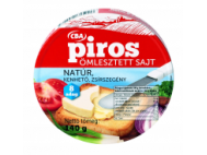 CBA PIROS kördobozos ömlesztett sajt natúr 140g