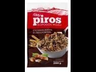 CBA PIROS ropogós müzli étcsokol. és mogyoródarabokkal 200g