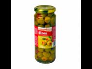 CBA PIROS olívabogyó zöld, paprika krémmel tt. 330g/200g