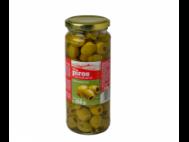 CBA PIROS olívabogyó zöld, magozott 330g/160g