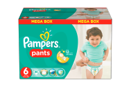 Pampers Pants bugyipelenka 6-os (Extra Large) 88db