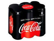 Coca-Cola Zero sleek 6x330ml CAN