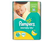 Pampers new baby pelenka newborn 43db