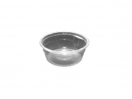 Dopla műanyag leveses tányér átlátszó 500ml 10db-os