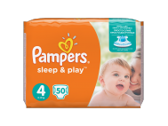 Pampers pelenka sleep+playjumbo maxi 50db