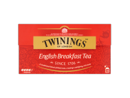 Twinings English breakfast fekete tea 25x25g
