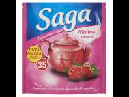 Saga gyümölcs tea málna 35x1.68g