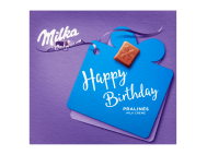 Milka Happy birthday tejkrémes 110g