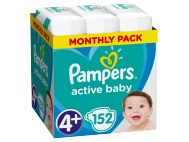 Pampers active baby S4+ -os méret
